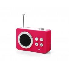 Радиоприемник Lexon Mini dolmen (AM/FM - MP3), розовый
