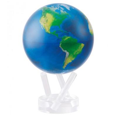 """Гиро-глобус Solar Globe Mova """"Вид из космоса"""" 11,4 см (MG-45-STE-NE)"""