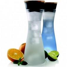 """Светящийся графин """"Lumm"""" для охлаждения напитков со светодиодной подставкой"""