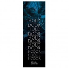 "Постер дверной ""Game of Thrones (Hold the Door Hodor) / Игра Престолов"" 53 x 158 см"