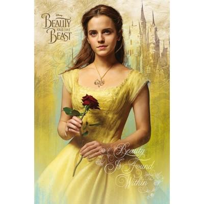 "Постер ""Beauty And The Beast Movie"""