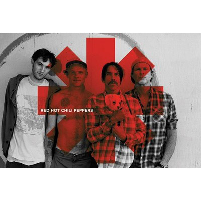 """Постер """"Red Hot Chili Peppers - Red Asterix""""  (PP 32844@)"""