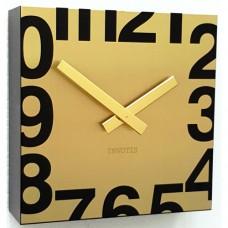 """Часы  настенные """"Square"""", золото"""