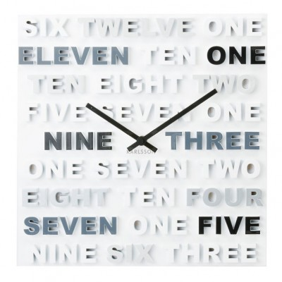 """Часы настенные """"One Two Three"""""""