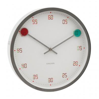 "Часы настенный ""Magic steel"" Ø30 см"