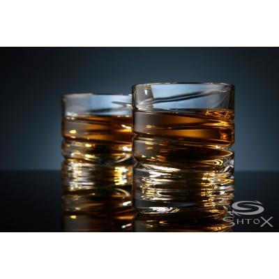 Набор из двух вращающихся стаканов Спираль Shtox (001S)