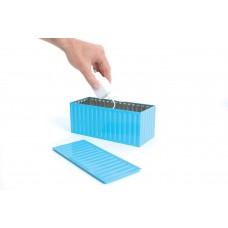 Коробка для хранения бытовых вещей, голубая