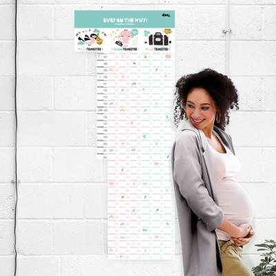 Календарь Baby  on the way
