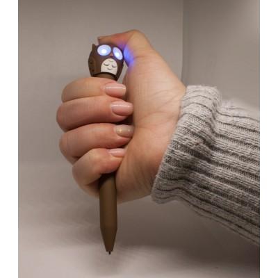 """Ручка-фонарик """"СОВА"""""""