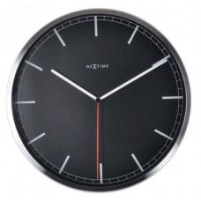 "Часы настенные ""Сompany-stripe"", черные Ø35 см"