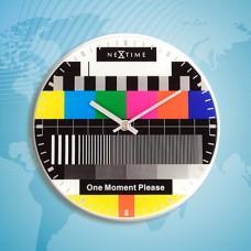 """Часы настенные """"Testpage One moment"""" Ø20 см"""