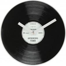 """Часы настольные """"Пластинка"""" Ø20 см"""