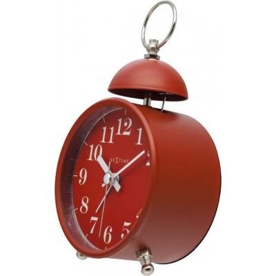 """Будильник """"Single Bell"""", красный 9.6 x 16.5 см"""