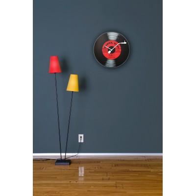 """Часы настенные """"Виниловая пластинка"""" Ø43 см"""