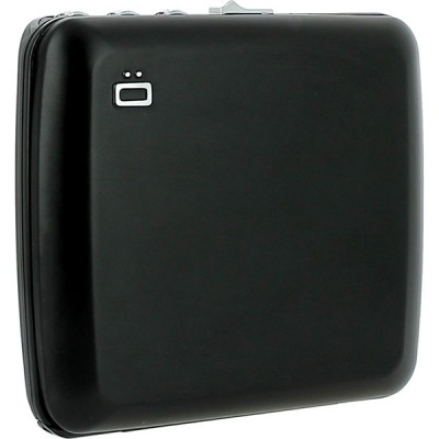 Бумажник OGON Mini Safe Alu с блокировкой, черный