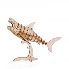 """Головоломка 3D-пазл """"Shark"""", деревянный"""