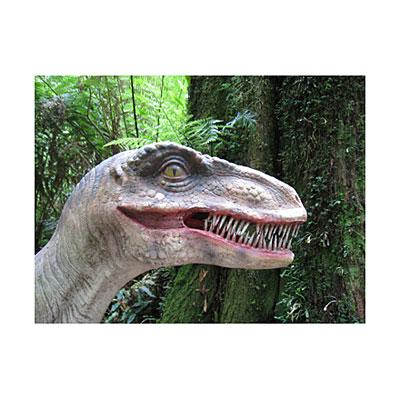 3D открытка Динозавр