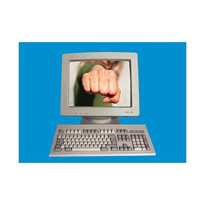 3D открытка Виртуальные опасности