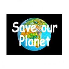 "3D открытка ""Спасите нашу планету"""