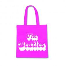 """Сумка для покупок """"The Beatles"""", розовая"""