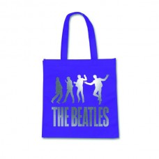 """Сумка для покупок """"The Beatles"""", лиловая"""