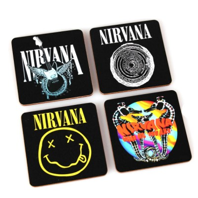 """Набор костеров (4 шт.) """"Nirvana"""""""
