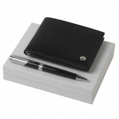 Набор: кошелек Bicolore и ручка Lueur