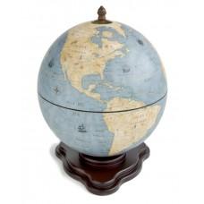 """Глобус-бар """"Galileo"""" голубой"""