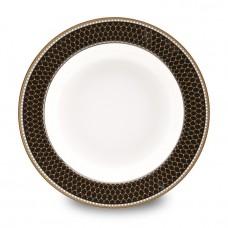 Тарелка суповая Antler Trellis Black
