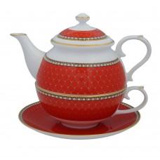 Набор чайный Antler Trellis Red