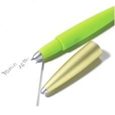 Шариковая ручка эластичная Troika Flexi Pen, зелёная