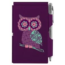 """Карманный блокнот с ручкой """"OWL"""""""