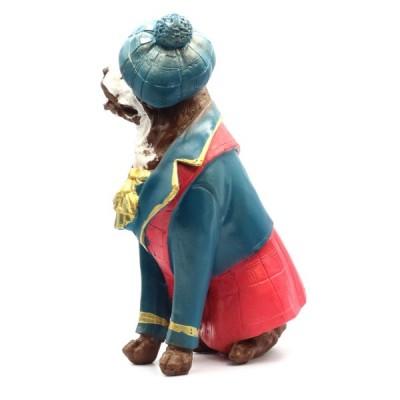 Статуэтка Сенбернар в шапке